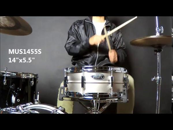 Modern Urility Steel Snare Drums