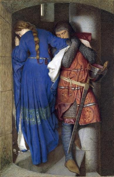 История одного шедевра. «Хеллелила и Хильдебранд: встреча на башенных ступенях», Фредерик Уильям Бёртон