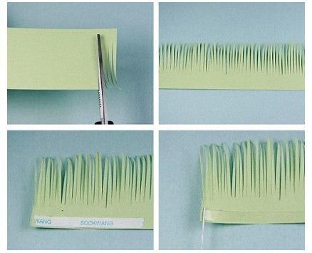 Упаковочная бумага своими руками. мастер-класс. цветы из бумаги.  Эта запись была... квиллинг.