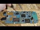 Ремонт Телефон Samsung не видит SIM карты и замена картоприемника SIM
