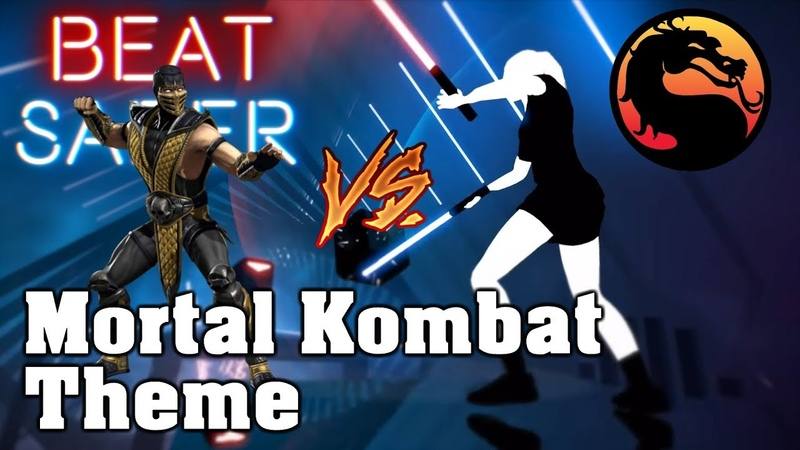 Beat Saber - Mortal Kombat Theme (custom song) | FC