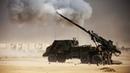 Iraq War Battle of Mosul French CAESAR 155mm Artillery Fire M109 Paladins Fire Support