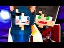 Вампир укусил Девушку Кошку Майнкрафт Выживание Мод Моды Видео Мультик для детей в Майнкрафте Карты