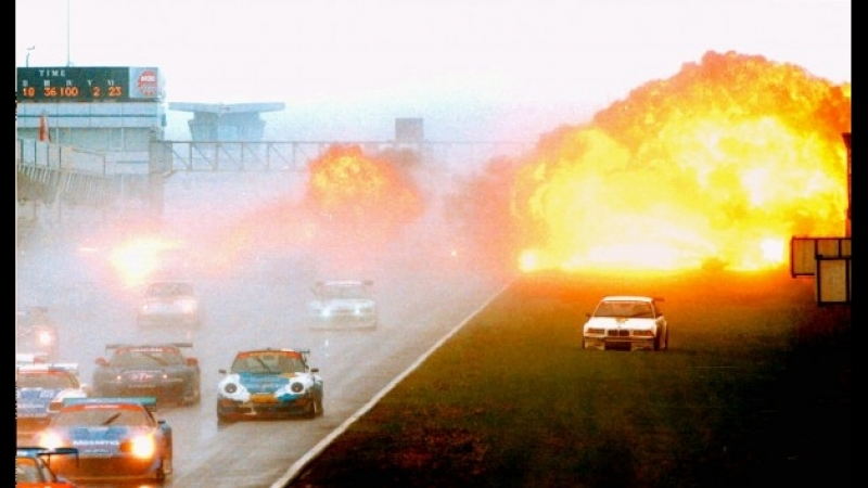 JGTC 1998 Tetsuya Ota`s Fuji Crush Burn
