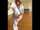 Ударка от Слабого женского пола в Кёкусинкай карате. Подготовка бойца. oyama_mas