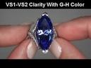 Penelope Cruz Estate Museum Quality 17 35 Carat D Block Tanzanite Diamond Ring Solid Platinum