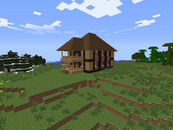Красивые дома в майнкрафт updated the community