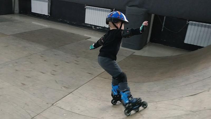 Лев, ролики, скейтпарк!