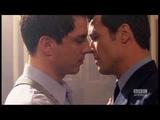 Captain Jack kisses Captain Jack - Torchwood - BBC America