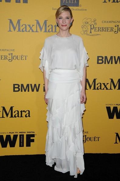 Кейт Бланшетт в белом