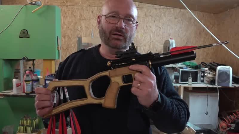 Freies Gewehr mit Nachtsicht-ZF und 77 Joule - JoergSprave
