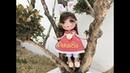Como tejer zapatos muñeca Sheila coneja amigurumis by Petus 1a. parte (English subtitles)