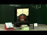 35) Тема 3: Электромагнитные явления. Урок 35.  Амперметр. Измерение силы тока (Физика 8 класс)