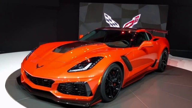 Chevrolet Corvette ZR1 new 2018-2019