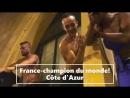 France champion du monde Côte d'Azur 2018