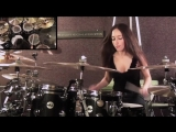 SLIPKNOT - WAIT AND BLEED - DRUM COVER BY MEYTAL COHEN.mp4