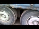 Американский грузовик на украинском бездорожье