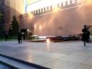 Смена караула у Вечного огня. Александровский сад. Москва 2018 года.