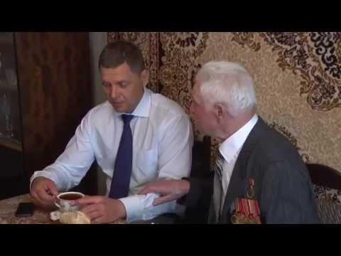 В Можайском городском округе поздравили ветеранов Курской битвы
