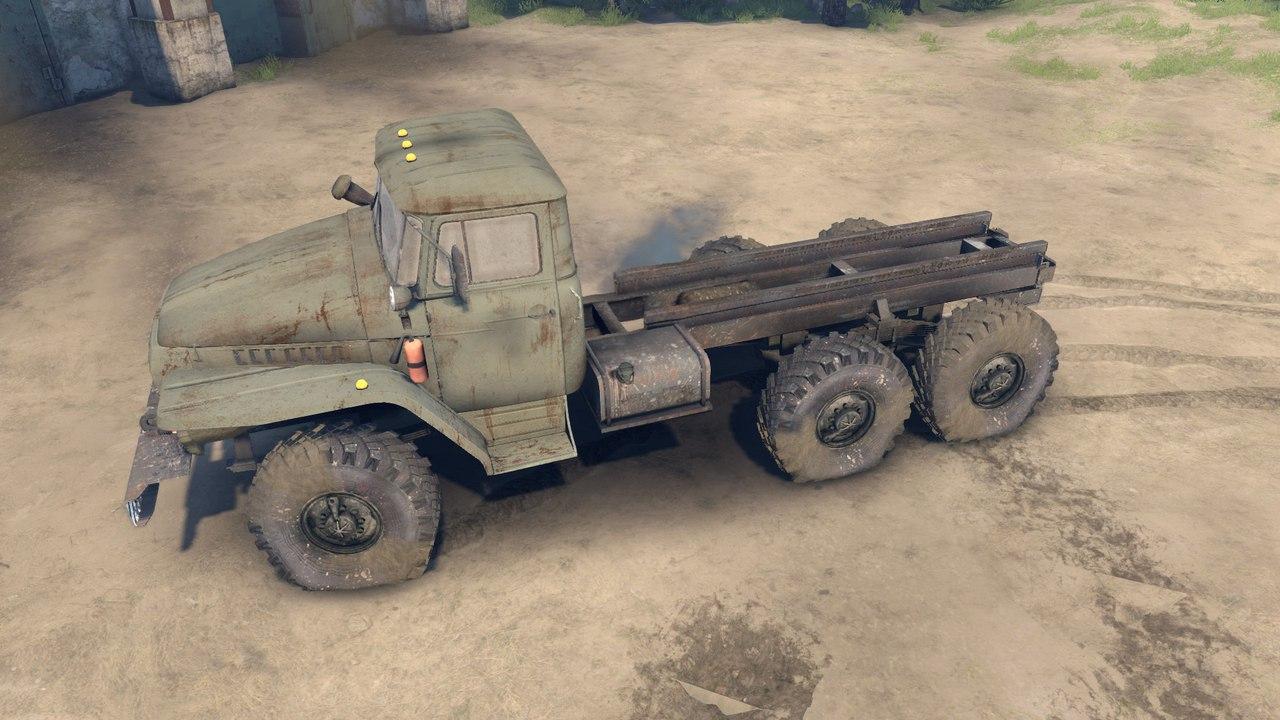 Урал-4320-01 Доработанный. для Spintires - Скриншот 1