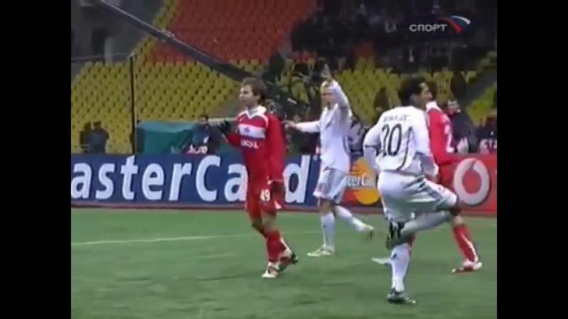 Лига Чемпионов 2006/07. Спартак (Москва) - Бавария (Германия) - 2:2 (1:2)
