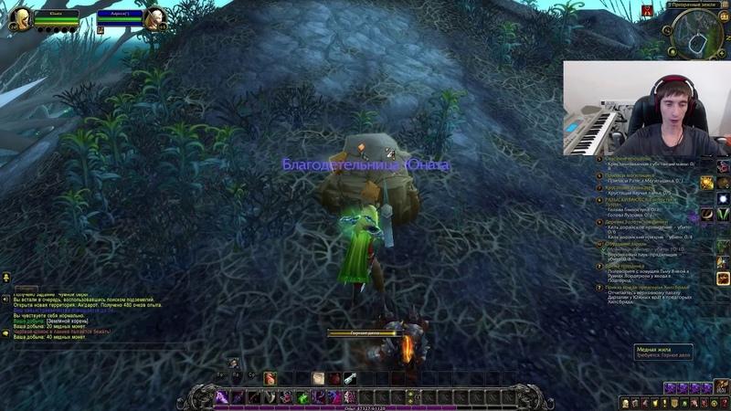 ≡9 WoW - Разбойник Эльфийка Крови 26-28 уровень World of Warcraft Ворлд оф Варкрафт