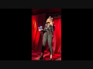 Madonna live at the stonewall inn (new year's eve 2018)