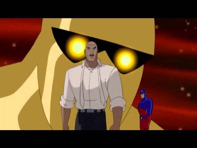 Amazo vs Lex Luthor