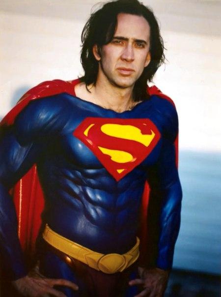 Николас Кейдж дождался роли Супермена спустя 20 лет