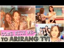 Working in Live TV: Behind-The-Scenes of ARIRANG ♥ MEEJMUSE SPECIAL Part 2 - 아리랑 방송국 같이 가요^^
