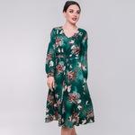 Платье Цветочное SO-78198-GRN