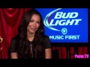 EXCLUSIVE! Naya Rivera Talks Big Sean Relationship Bud Light Interview) on Perez TV