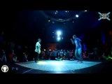 Awesome Battle | 8.12.13 | Hip-Hop Beginners | Semi-Final | Nastya Lim vs Vitalya |