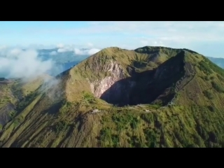Восхождение на активный стратовулкан Гунунг-Батур.