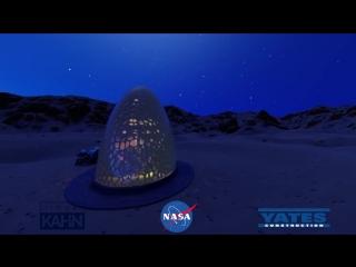 Kahn Yates - Phase 3- Level 1 of NASA's 3D-Printed Habitat Challenge