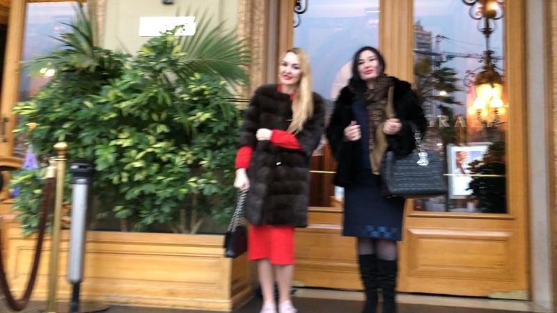 Наши красотки в казино Монте Карло ) Nos belle chanteuses à Monaco @wayclub
