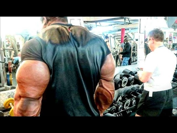 Real Life Giant Bodybuilder from Venezuela - Mass Monster in The Gym