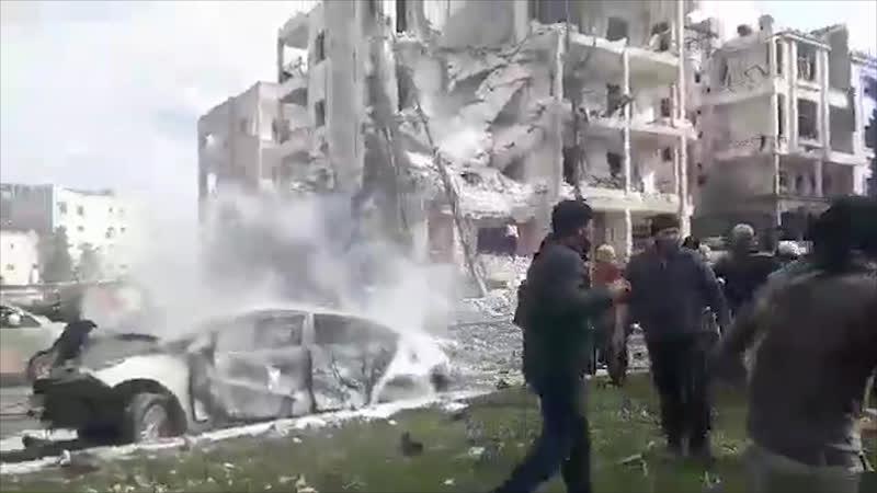 Двойной теракт в Идлибе унес жизни 15 человек 18 февраля Вечер СОБЫТИЯ ДНЯ ФАН ТВ