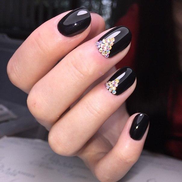 Маникюр на короткие ногти дизайн 2016. Дизайн маникюра 87
