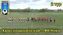 Красноармейское ФК Ника 2 тур чемпионата Самарской области по футболу 2019