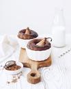 Порционный кекс с грушей