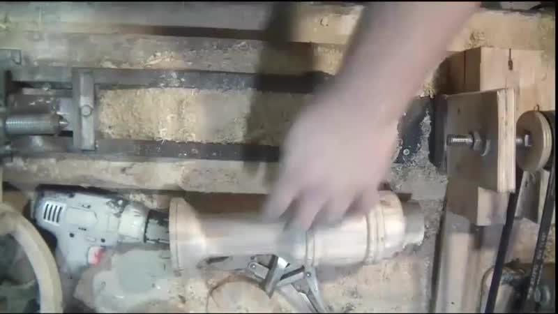 ТОЧЕНИЕ ВАЗЫ Woodturning plain vase