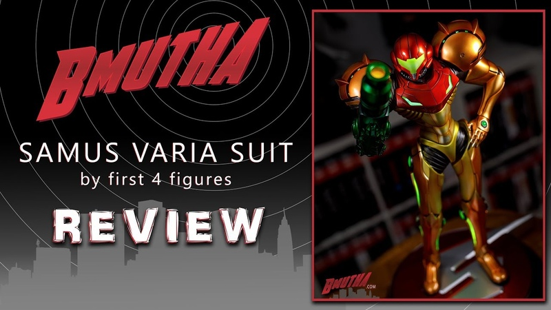 Review Samus Varia Suit EX by First 4 Figures