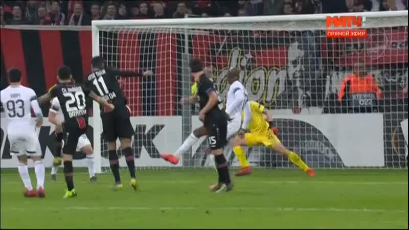 Матч футбол Краснодар против Байер забитые голы Лига Европы финал