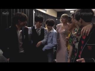 [VIDEO] @BTS_twt - - Los miembros interactuando con Taylor Swift - - BTSARMY ChoiceFandom .mp4