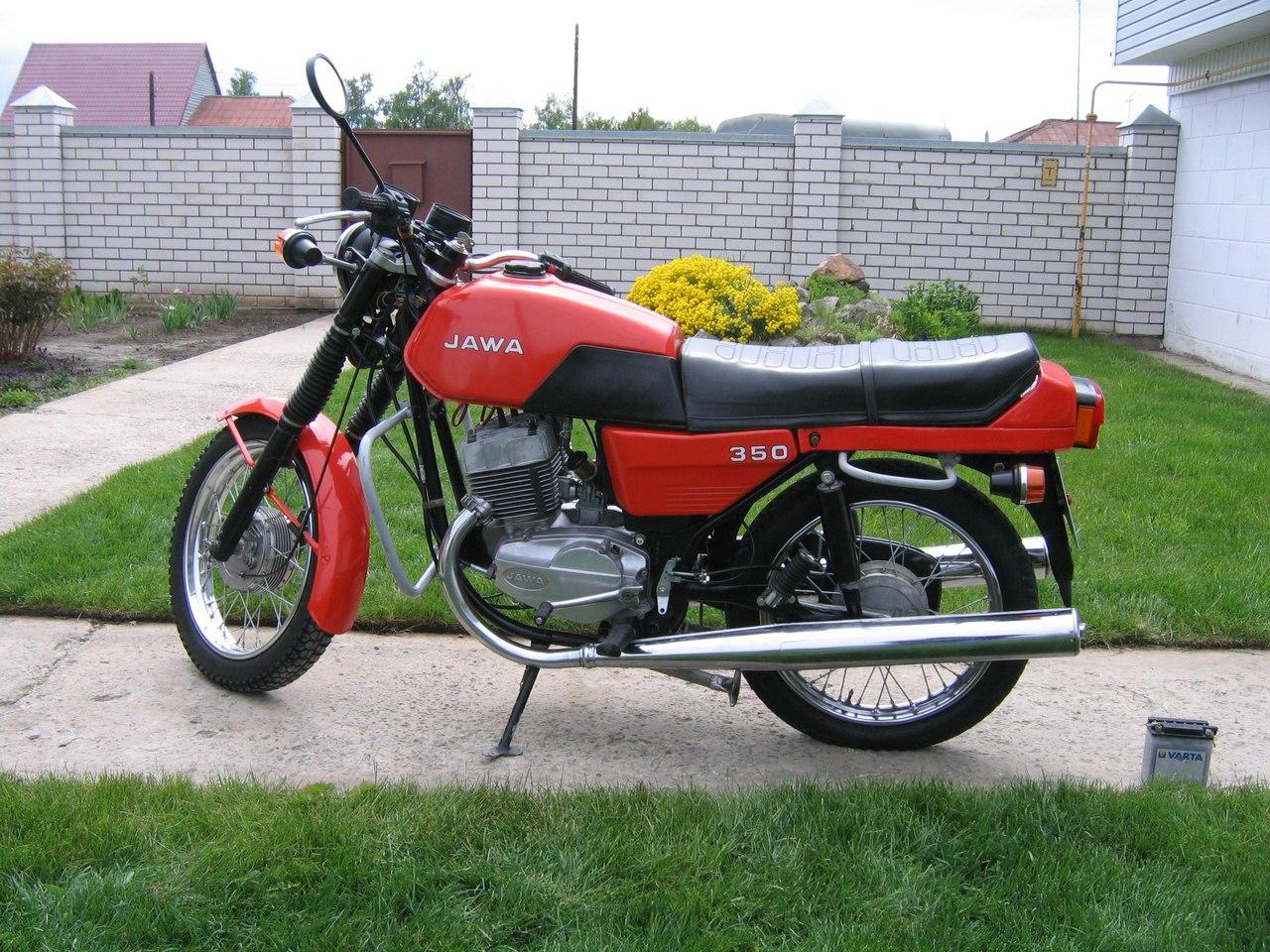 Мотоцикл Ява 660 люкс фото #8