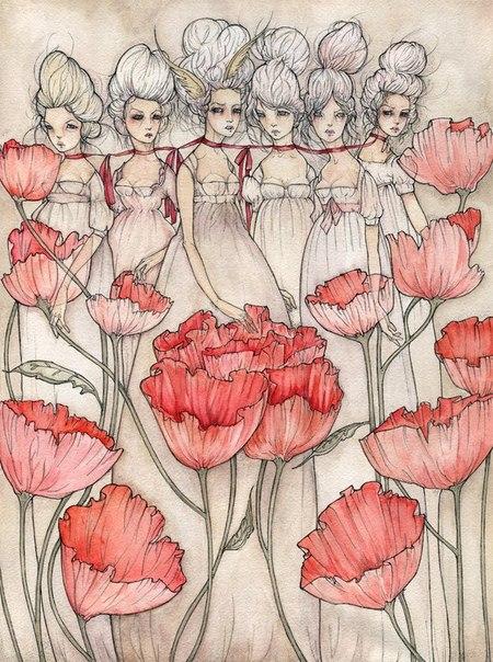 Иллюстрации от Liza Corbett - Фото № 2