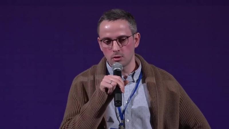 Дмитрий Колезев, заместитель шеф-редактора Znak.com. Выступление на Медиафоруме «Планёрка 2018»