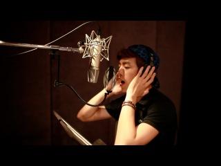 Lee Hyun Woo (이현우) '은밀하게 위대하게' OST [청춘예찬] 녹음실 메이킹