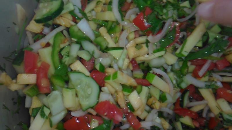 Смесь овощей для заморозки На зиму
